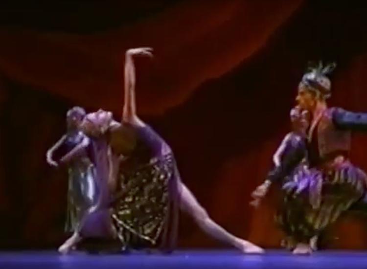 Cinderella-Arabian princess Heinz Spoerli